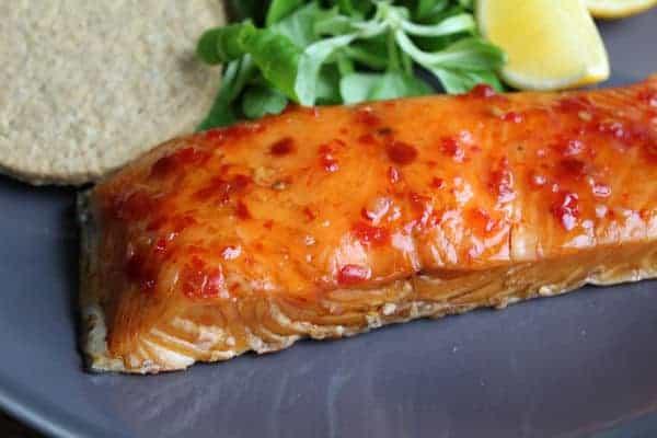 Marmalade Salmon