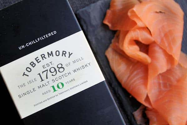 Cold Smoked Whisky Salmon