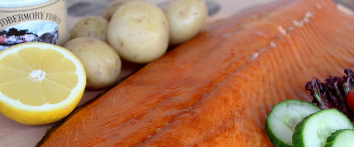 Tobermory Fish Co hot smoked trout